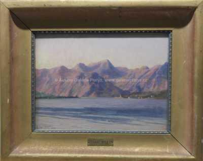 Eduard Wirth - Jezero pod horami