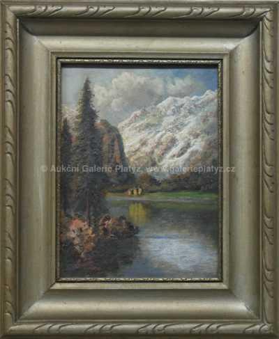 Alois Tott - Horské jezero