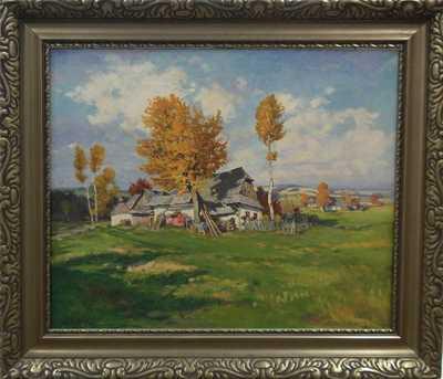 Gustav  Porš - Podzimní nálada na Vysočině