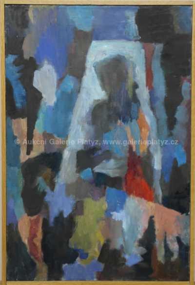 Milada Šindlerová-Vokáčová - V šatně