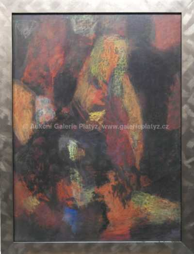 Milada Šindlerová-Vokáčová - Abstrakce