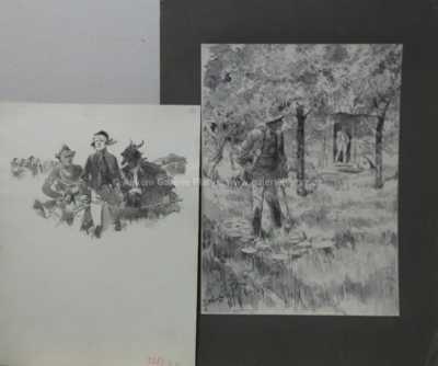Oldřich Cihelka - Konvolut dvou kusů