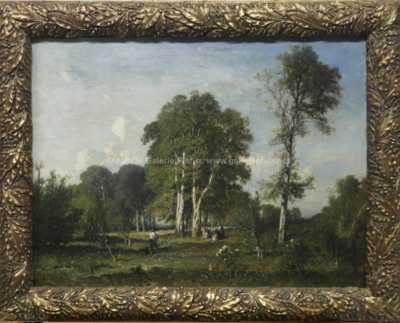 Felix Saturni  Brissot de Warville  - Lesní zátiší
