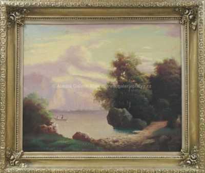 Nesignováno - Na jezeře