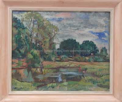 Bořivoj Žufan - U rybníka