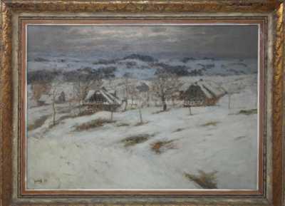 Stanislav Feikl - Zasněžená vesnička