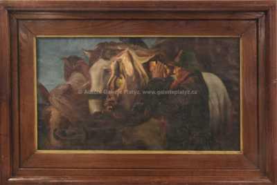 Nesignováno - U koní
