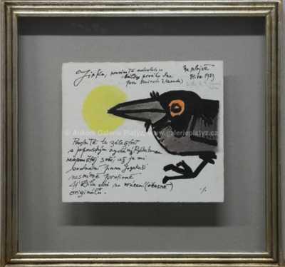 Ota Janeček - Osobní korespondence s kresbou