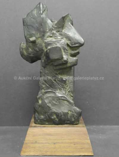 Otto Gutfreund - Hlava muže