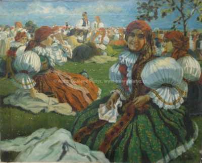 K. Dohnálek - Pouť u sv. Antoníčka