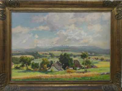 František Cína - Jelínek - Pohorská vesnička