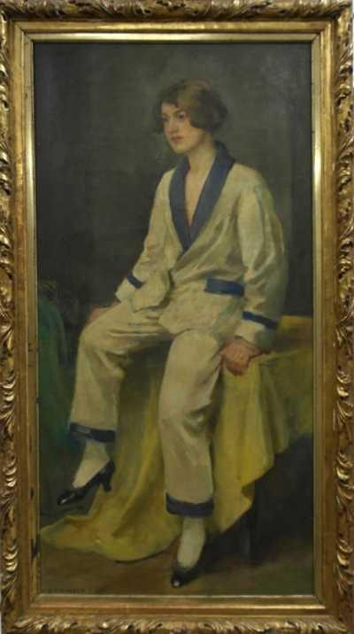 Podobizna paní Evy Lindourkové-Mayerové