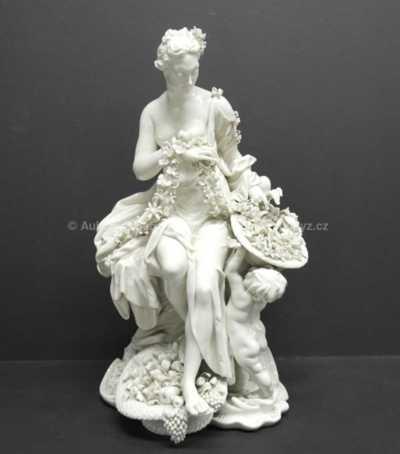 Porcelán - Květinářka