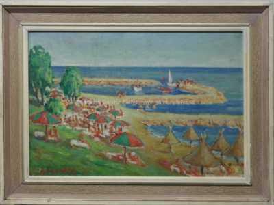 František Jiroudek - U moře