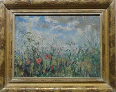 Julie Mezerová-Winterová - Rozkvetlé trávy