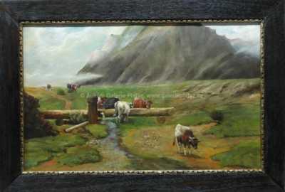 Nesignováno - Podhorská pastvina