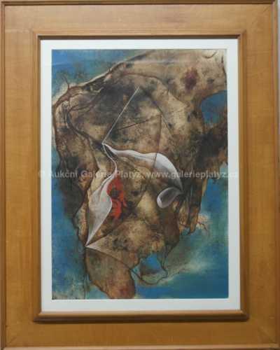 Jaroslav Veris (Zamazal) - Surrealistická krajina