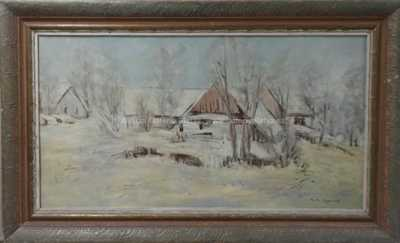 Karel Jan Sigmund - Zimní vesnička