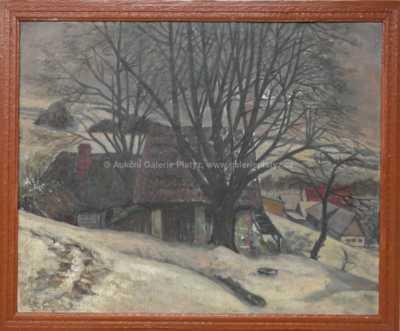 Jaroslav Ronek - Zimní krajina