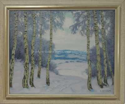 Karel Schadt - Zimní průhled