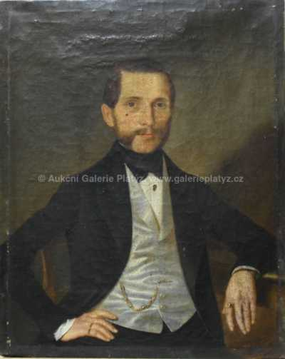 J. Václav Mysliveček - Sedící měšťan