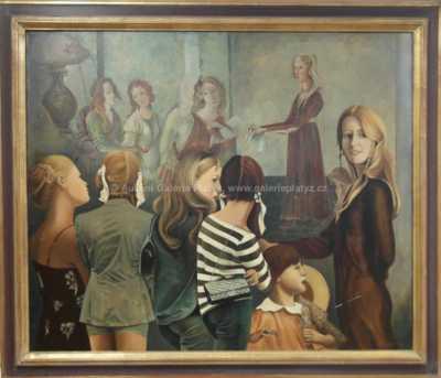 Lutobor Hlavsa - Volba Krásy v Louvre