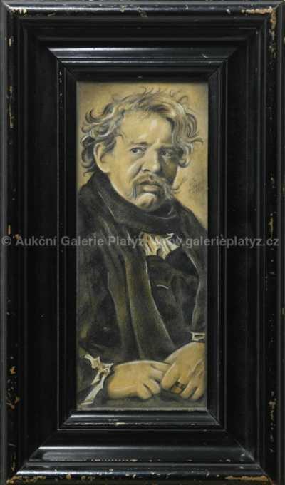 Váša Neubert - Portrét Hugo Haase