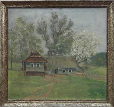 Oldřich Hlavsa - Stavení pod stromy