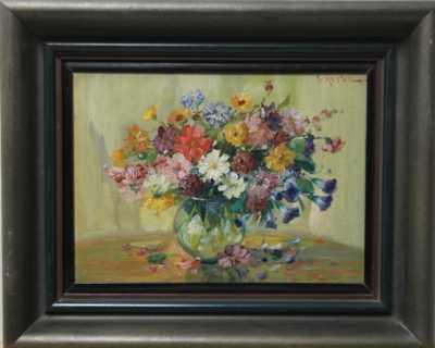 A. Herbe - Květinové zátiší