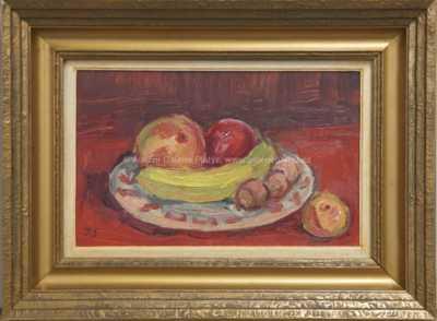 Jan Slavíček - Zátiší s ovocem
