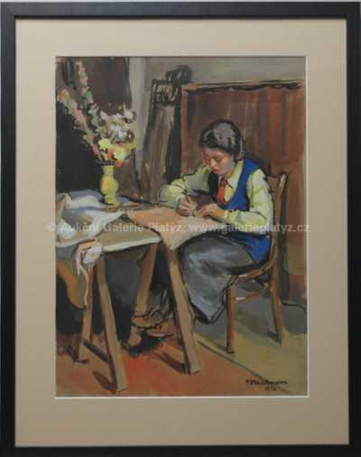 Pavel Fleischmann - U stolu