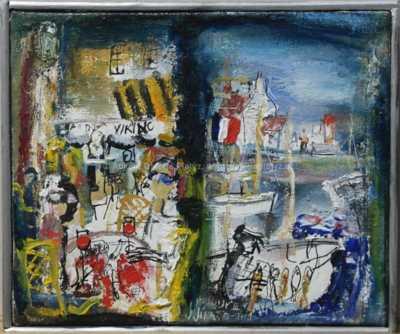 Josef Jíra - Vzpomínka na Honfleur