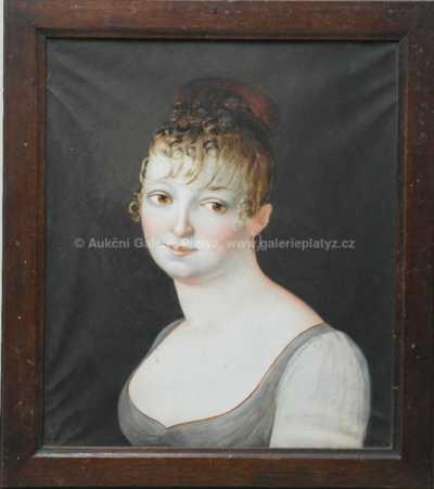 Nesignováno - Portrét dívky