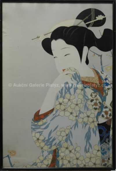 Nesignováno - Japonská dívka