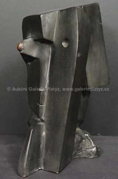 Otto Gutfreund - Kubistická hlava