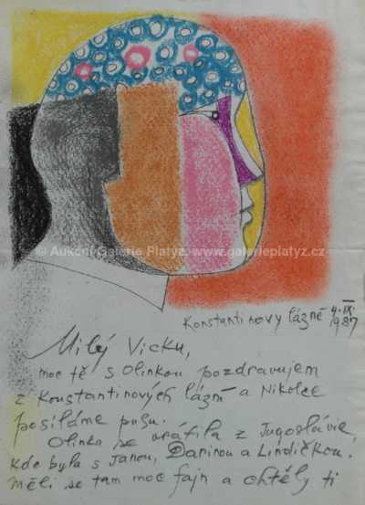 Ota Janeček - Milý Vicku 4.9.1987