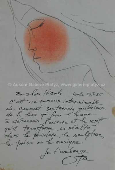 Ota Janeček - Dopis pro Nicol