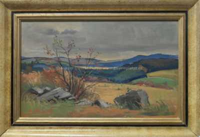 Rudolf Hanych - Podzim na Svratce