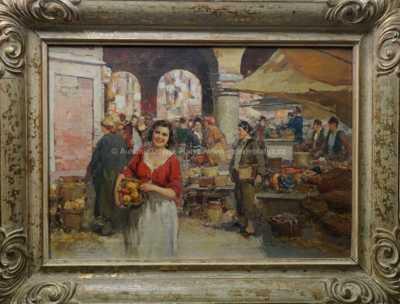 Guiseppe Pitto - Na tržišti