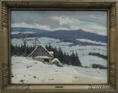 Karel Schadt - Zima na Benecku