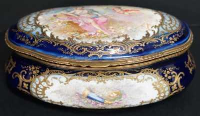 Porcelán - Dóza