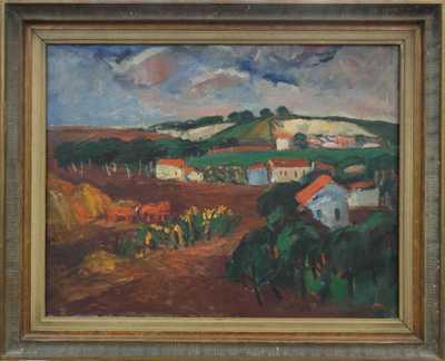 Leopold Musil - Krajina s lomy