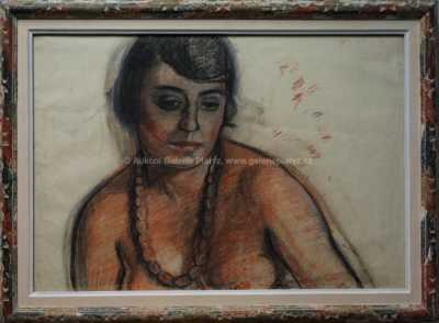 Georges Kars - Dívka s náhrdelníkem