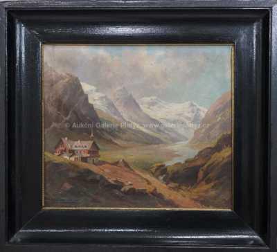 Karl Flieher - Alpská krajina