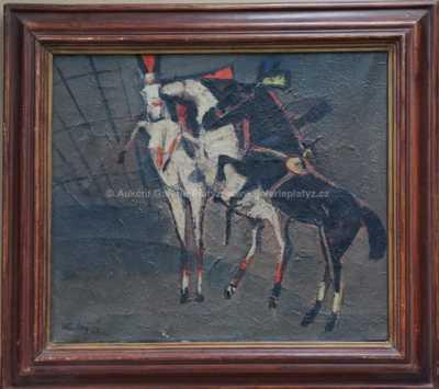 Václav Koutský - Koně v manéži
