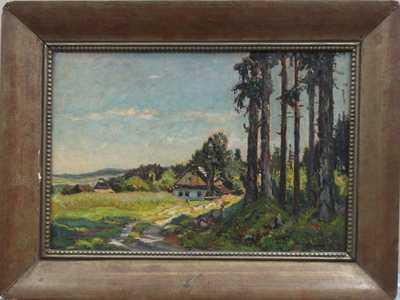 František Cína - Jelínek - Chalupa u lesa
