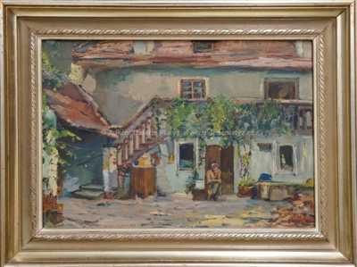 Jan Klos - Před domem