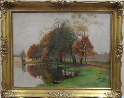 František Zikmund - U rybníka