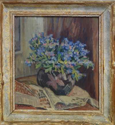Milada Špálová - Zátiší s květinami