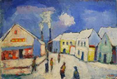 Václav Haise - První sníh